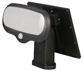 Solar Powered LED Security Light with