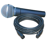 SURE SM58 MICROPHONE & 10METRE CABLE%2