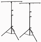 Light Load Lighting Stand 2.7m & T-B