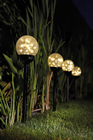 Solar LED Black Pearl Spike Light