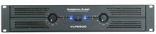 AMERICAN AUDIO AMPLIFIER 2 x 1200 WATT