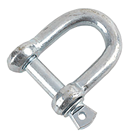 Shackle Zinc Plated - Choice of Size