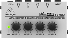 Behringer HA400 4 Channel Headphone Ampl