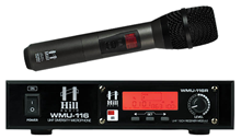 Single Handheld UHF Radio Mic by Hill%