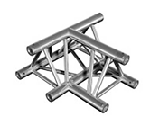 Aluminium Trussing TRIO 290 3-Way Corner