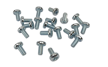 M6 Bolts Zinc Pack 20