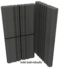 Free Standing Sound Absorbing Panel Grey