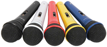 Vocal Dynamic Mic''s - Pack of Fiv