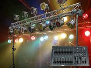 COMPLETE STAGE LIGHTING SYSTEM