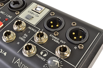 Compact 2 Channel Mixer by Atomic
