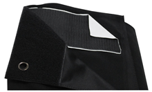 Black Serge Drape for Backdrops