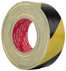 Black/Yellow High Gloss Hazard Tape