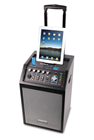 Portable PA with iPad/iPhone Dock