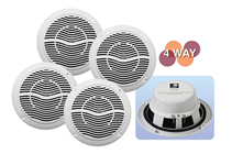 4 Way Bluetooth Ceiling Speaker & Am
