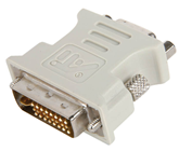 DVI-I PLUG TO VGA SOCKET