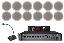 Large Ceiling Speaker Kit with 4 Dimma