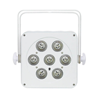 RGBAWUV Slimline White Housing LED Par%2