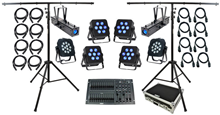 Complete Stage Lighting System.
