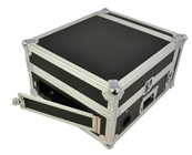 2U MIXER CASE WITH SLIDING LAPTOP SHEL
