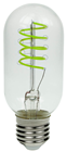 Funky Spiral Filament LED Lamp 4W E27%