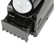 Battery Powered Twin LED Floodlight with