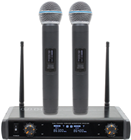 Twin Handheld UHF Microphone System TM%2
