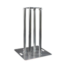 1m DJ Aluminum Plinth Kit with White%2