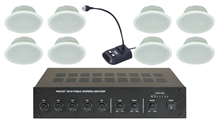 Commercial PA 100v Ceiling Speaker Kit%2