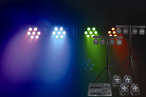 RGB & WW Stage Lighting Set