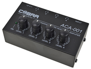 4 Channel Headphone Monitor by Cobra