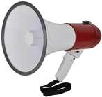 Megaphone with Built-in Microphone & F