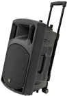 Portable PA with UHF, USB/SD/FM &
