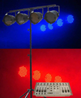 LED STAGE LIGHTING KIT WITH 4 PAR56