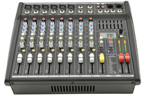 6 Channel Power Mixer 2 x 200W