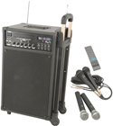 QTX PPA74 Portable PA And Wireless Mic System
