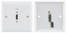 HDMI WALLPLATE