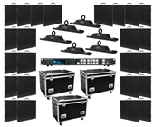 AV4XIP Series Video Panel System - 24 Panels