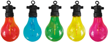 Party Lights with 10 Multi-Coloured Lamp