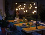 LED String Light Set with Timer and