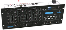 NewHank Playmate 4U Rack Mixer with US