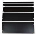 "19"" Blank Rack Panel With Black F"