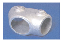 PIPECLAMP ADJUSTABLE SHORT TEE (30-60