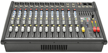 10 Channel Powered Mixer 2 x 350W