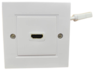 Single HDMI Wall Plate with Flying Lea
