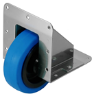 4 100mm Recessed Caster - Choice of