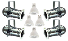Par16 Aluminium Birdy Lighting Set