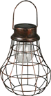 Solar LED Copper Metal Lantern