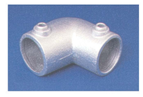 PIPECLAMP ANGLED ELBOW (4-10 DEGREE)